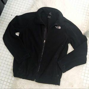 The North Face Black Fleece Zip Up Jacket